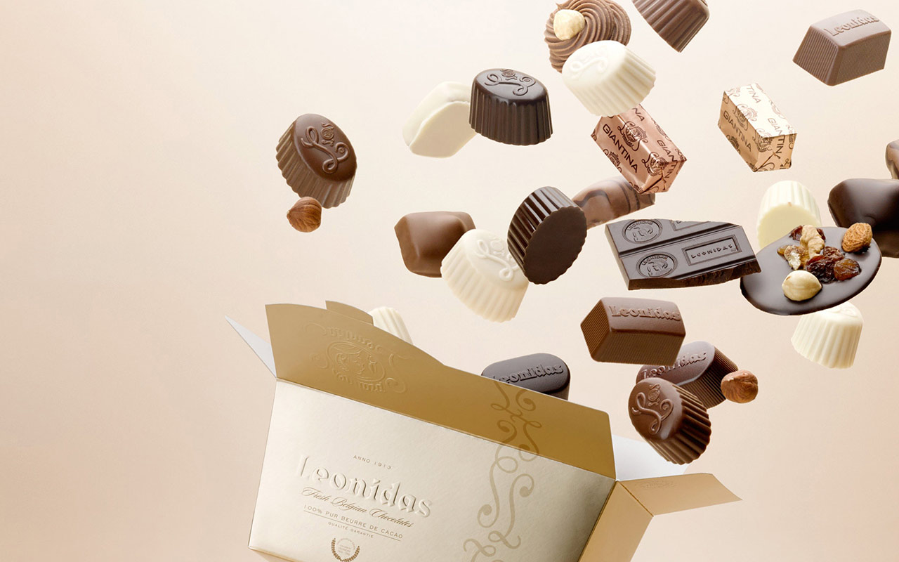 Leonidas pralines, a basic need!