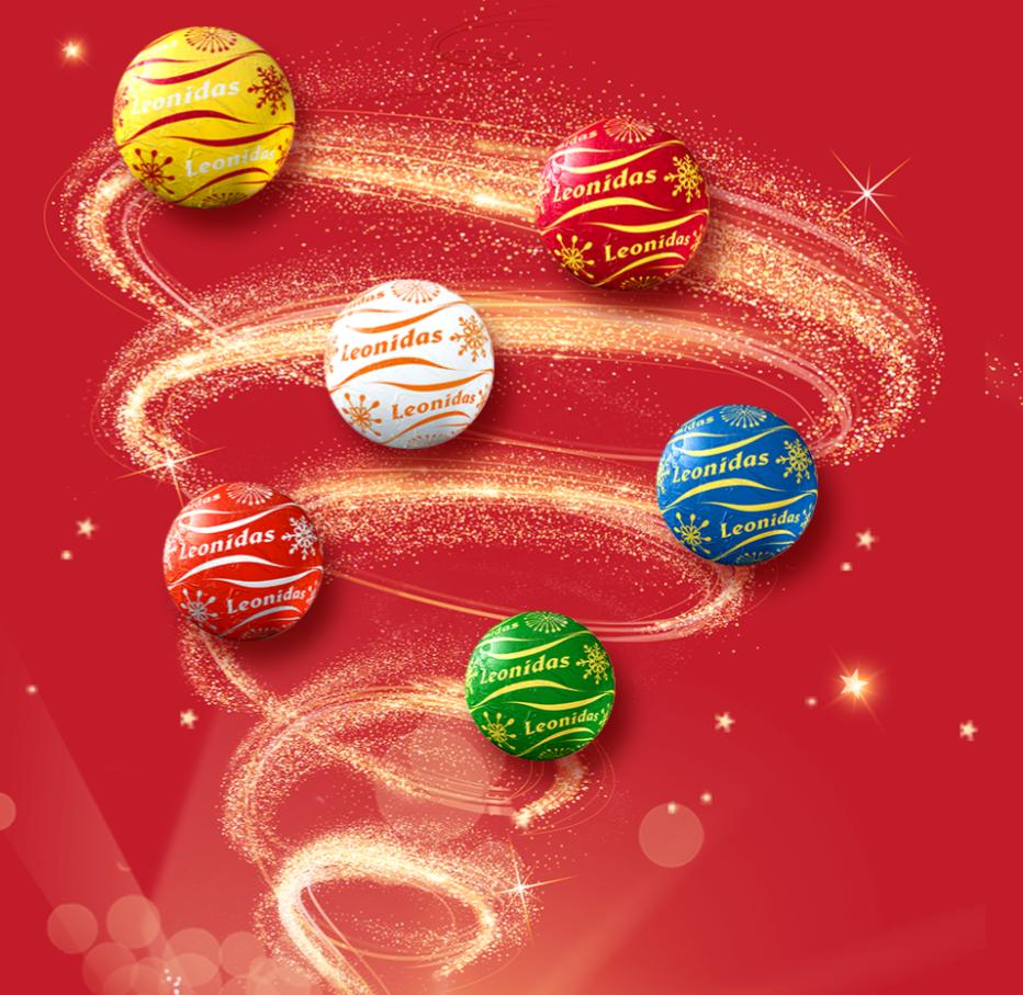 Boule De Noel Leonidas Noël 2019 / Joyeux Cadeaux | Leonidas site officiel